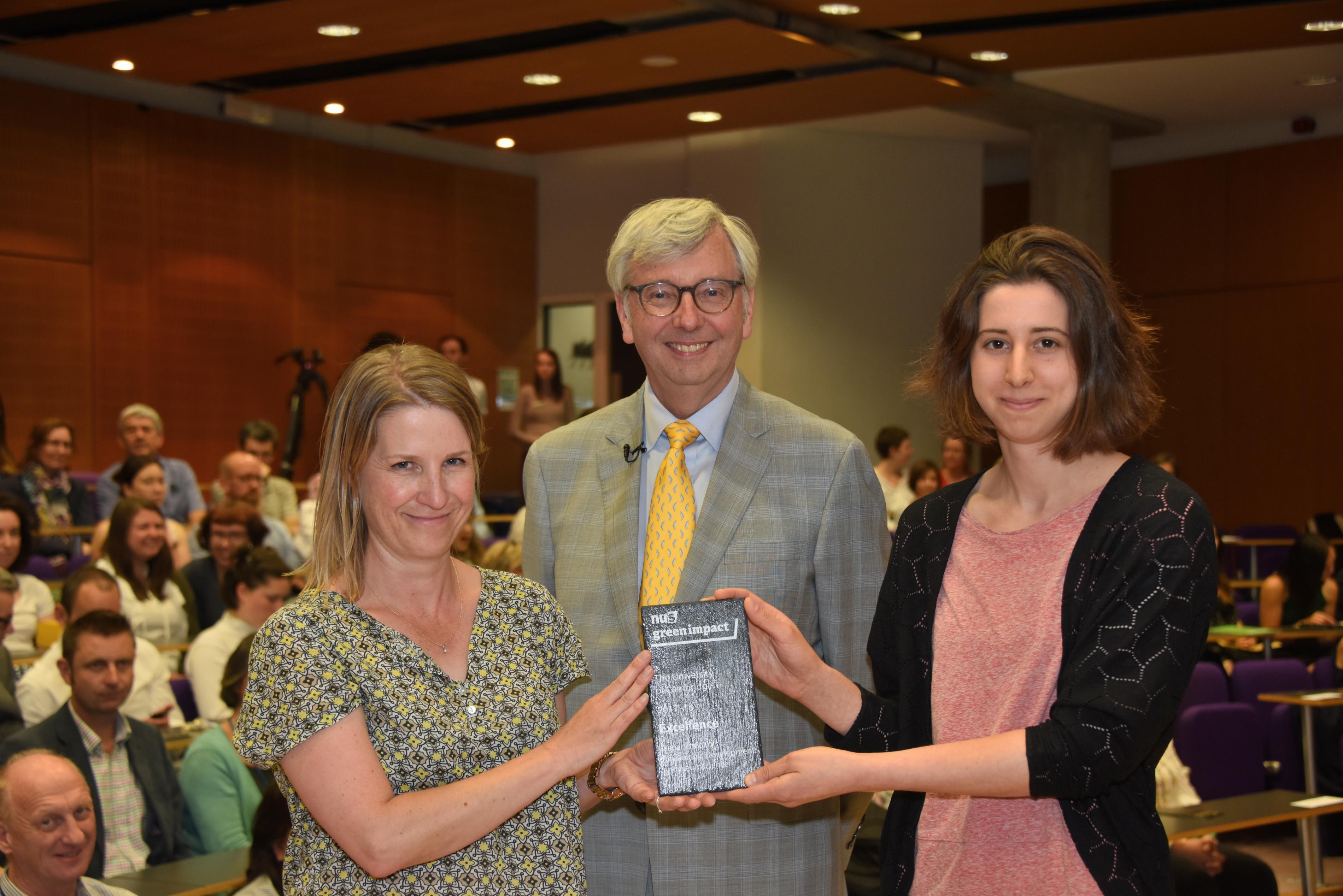 PDN receives Green Impact Excellence Award